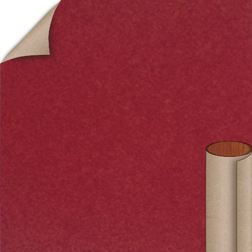 Nevamar Red Hot Allusion Textured Finish 4 ft. x 8 ft. Countertop Grade Laminate Sheet ALR003T-T-H5-48X096