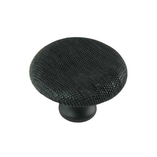 MNG Hardware Vanilla 1-1/2 Inch Diameter Oil Rubbed Bronze Cabinet Knob 16613
