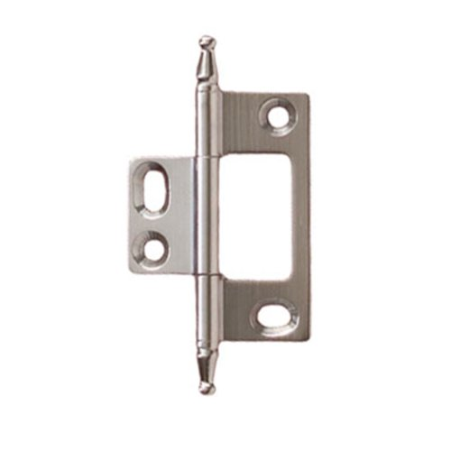 Elite Non-Mortised Butt Hinge 50X37mm - Satin Chrome <small>(#351.95.480)</small>