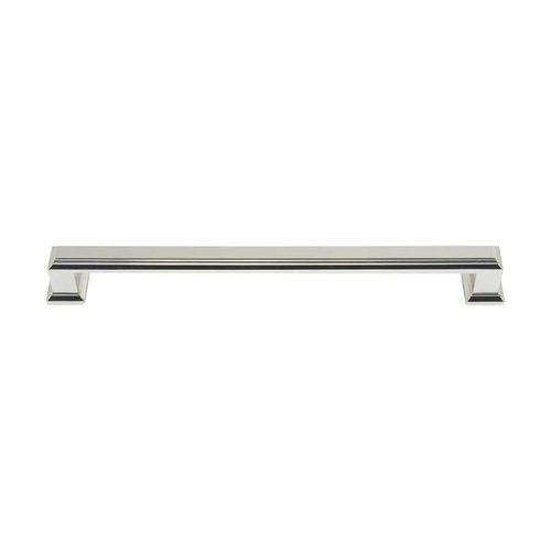 Atlas Homewares Sutton Place 7-9/16 Inch Center to Center Polished Nickel Cabinet Pull 293-PN