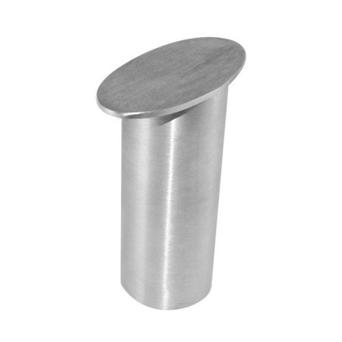 "Federal Brace Dilworth Countertop Post Support 5"" High - Brushed Stainless 31530"