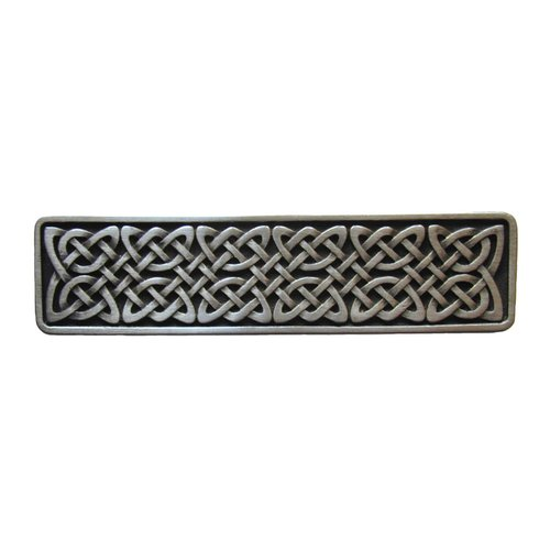 Notting Hill Jewel 3 Inch Center to Center Antique Pewter Cabinet Pull NHP-657-AP