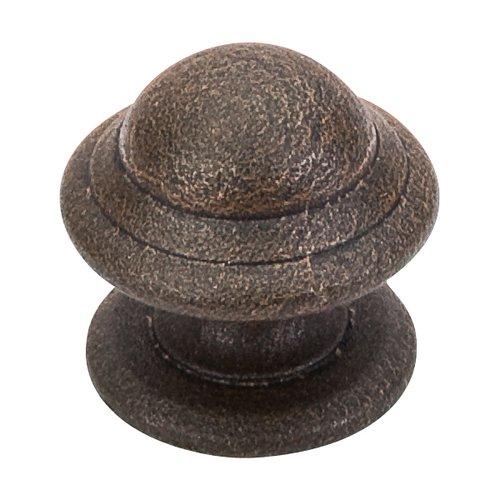 Top Knobs Britannia 1-1/4 Inch Diameter Rust Cabinet Knob M12