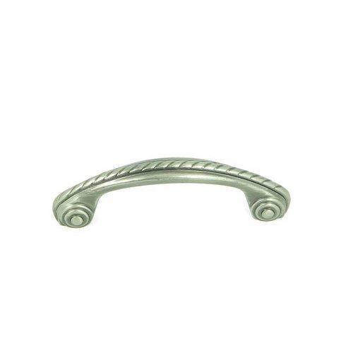Stone Mill Hardware Palermo 3 Inch Center to Center Weathered Nickel Cabinet Pull CP3024-WEN