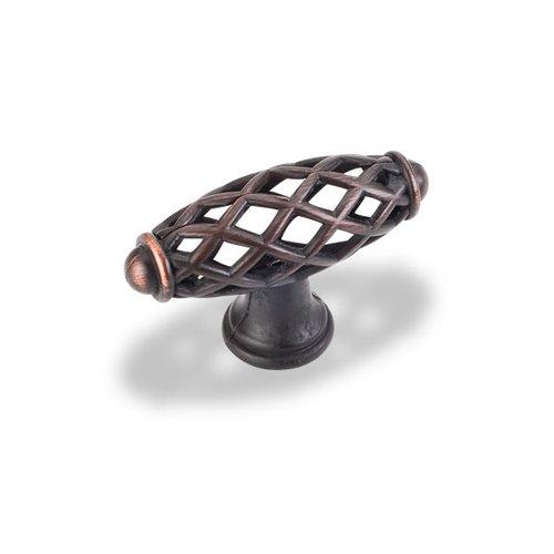 Jeffrey Alexander Tuscany 2-5/16 Inch Diameter Dark Brushed Antique Copper Cabinet Knob 749DBAC