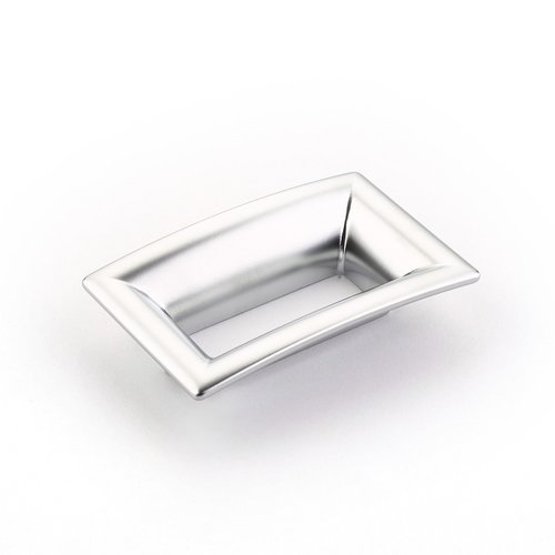 Finestrino 2-1/2 Inch Center to Center Matte Chrome Cabinet Pull <small>(#441-M26)</small>