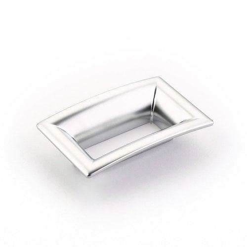 Schaub and Company Finestrino 2-1/2 Inch Center to Center Matte Chrome Cabinet Pull 441-M26