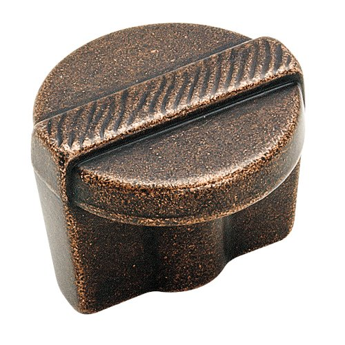Forgings 1-1/4 Inch Diameter Rustic Bronze Cabinet Knob <small>(#BP4427RBZ)</small>