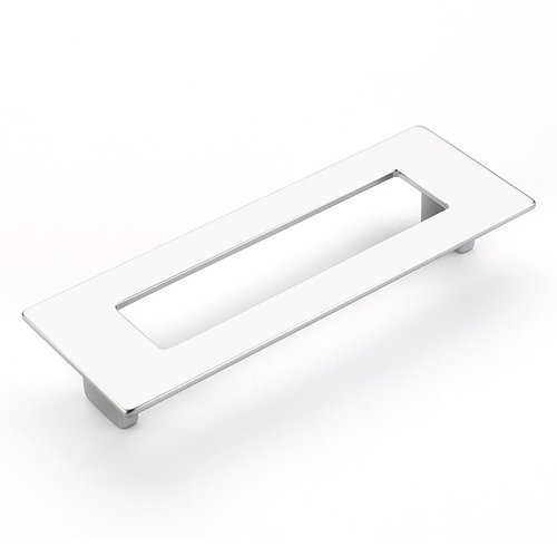 Schaub and Company Finestrino 5-1/16 Inch Center to Center Matte Chrome Cabinet Pull 445-M26