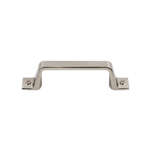 Top Knobs Barrington 3 Inch Center to Center Brushed Satin Nickel Cabinet Pull TK742BSN