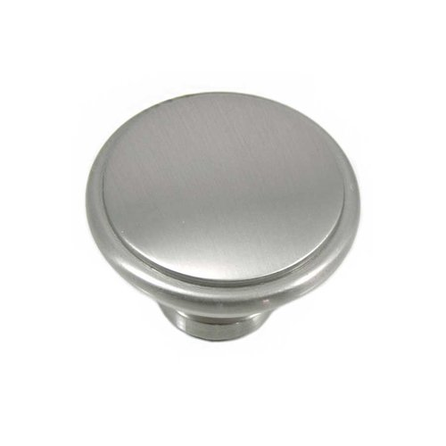 MNG Hardware Grace 1-1/4 Inch Diameter Satin Nickel Cabinet Knob 83128
