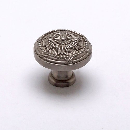 Toccata 1-1/4 Inch Diameter Brushed Nickel Cabinet Knob <small>(#8255-1BPN-P)</small>