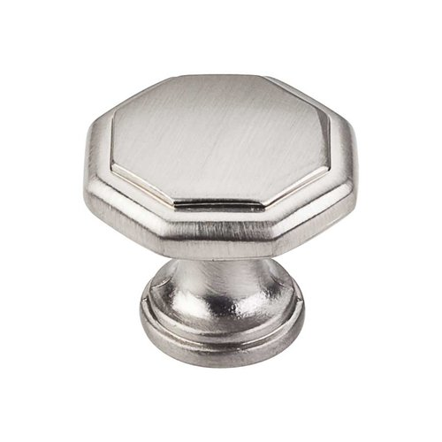 Elements by Hardware Resources Drake 1-3/16 Inch Diameter Satin Nickel Cabinet Knob 424SN