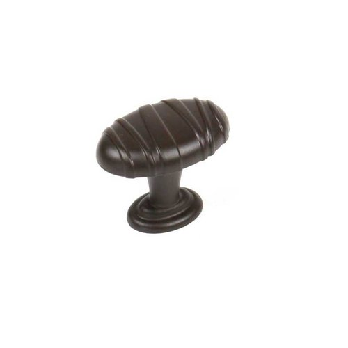 Mackinac 1-1/4 Inch Diameter Oil Rubbed Bronze Cabinet Knob <small>(#28408-OB)</small>
