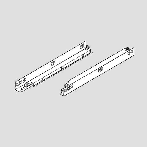 Blum Tandem 569H Soft Close 18 inch Slide with Standard Locking Devices 569H4570B