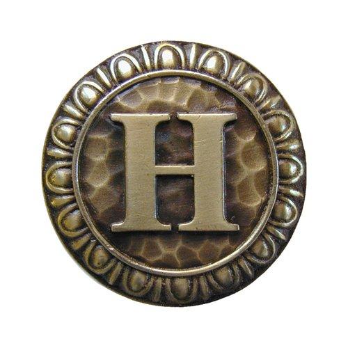 Notting Hill Jewel 1-3/8 Inch Diameter Antique Brass Cabinet Knob NHK-187-AB