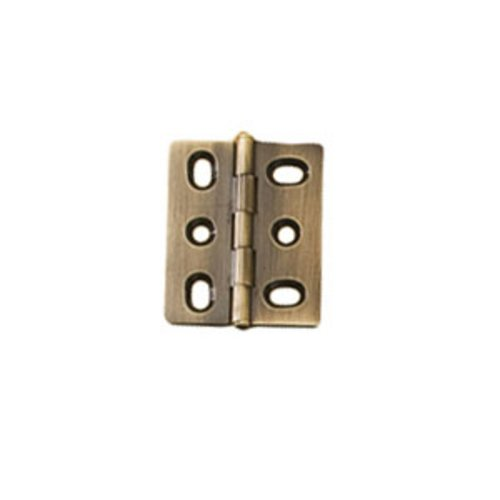 Elite Mortised Butt Hinge 50X40mm - Antique Brass <small>(#354.17.140)</small>