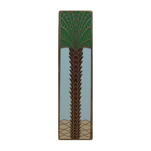 Tropical 3 Inch Center to Center Antique Brass Cabinet Pull <small>(#NHP-322-AB-B)</small>