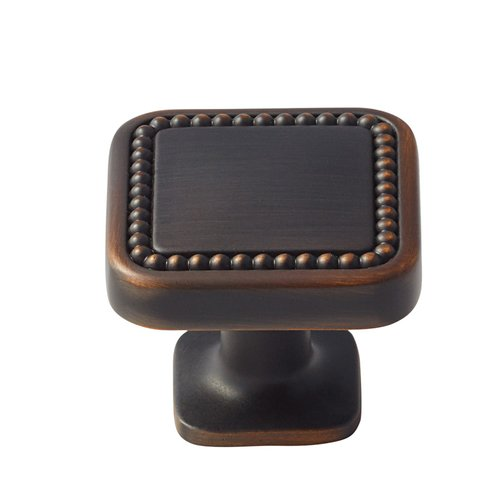 Carolyne 1-1/4 Inch Diameter Oil Rubbed Bronze Cabinet Knob <small>(#BP36582ORB)</small>