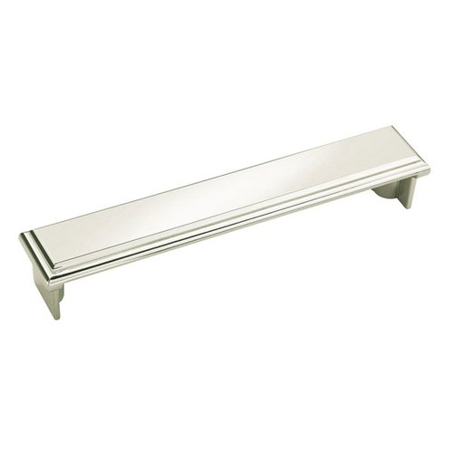 Amerock Manor 5-1/16 Inch Center to Center Polished Nickel Cabinet Cup Pull BP26138PN