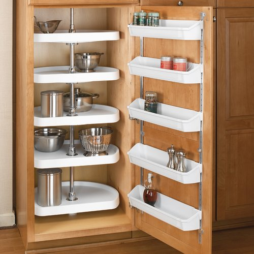 "Rev-A-Shelf 6265 5 Shelf D-Shape White - 22"" 6265-22-11-52"
