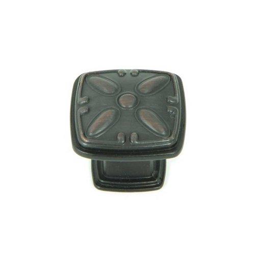 Stone Mill Hardware Milan 1-1/4 Inch Diameter Oil Rubbed Bronze Cabinet Knob CP81093-OB