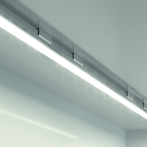 Hafele Loox 2024 12V LED White Strip Light 10-1/4 inch Warm White 833.73.030