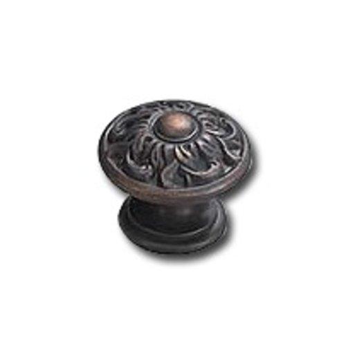 Schaub and Company Corinthian 1-3/8 Inch Diameter Ancient Bronze Cabinet Knob 870-ABZ
