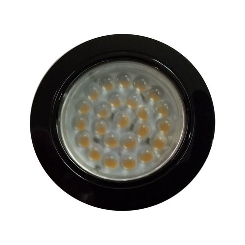 Hera Lighting KB12-LED Black Spotlight - Cool White KB12LEDBL/CW