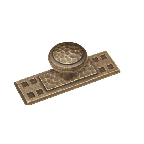 Hickory Hardware 3-1/2 Inch Length Windover Antique Back-plate P7529-WDA