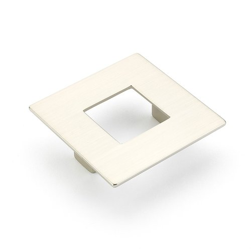 Schaub and Company Finestrino 2-1/2 Inch Center to Center Satin Nickel Cabinet Pull 443-15