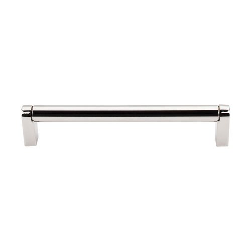 Top Knobs Asbury 6-5/16 Inch Center to Center Polished Nickel Cabinet Pull M1257