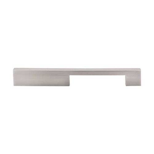 Top Knobs Sanctuary 7 Inch Center to Center Brushed Satin Nickel Cabinet Pull TK24BSN