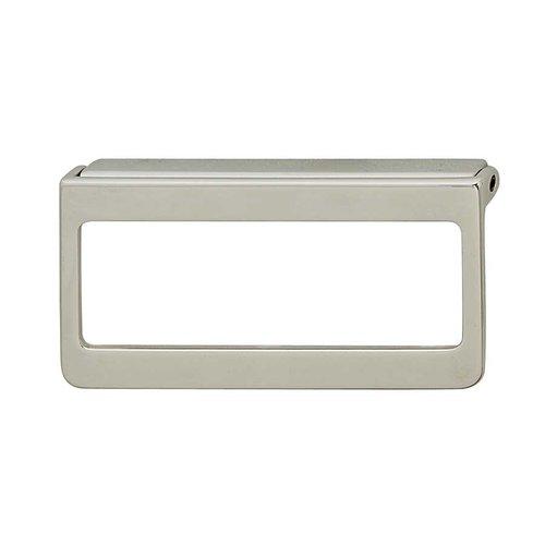 Hafele Bella Italiana 2-1/8 Inch Center to Center Polished Chrome Cabinet Pull 111.60.201