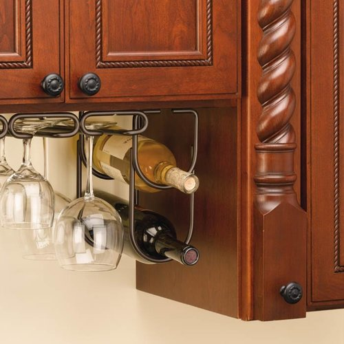Rev-A-Shelf Double Bottle Holder - Oil Rubbed Bronze 3250ORB