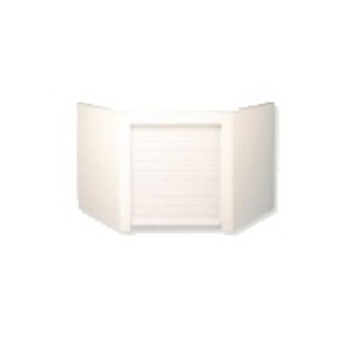 Omega National Products Euro Corner Appliance Garage - White AG-200CW