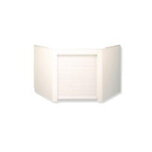 Omega National Products Euro Corner Appliance Garage - White AG-200CW