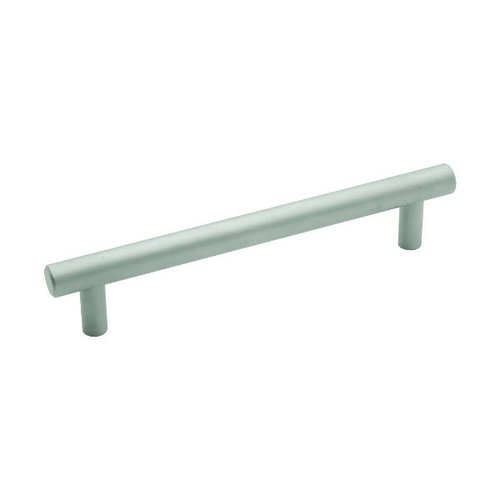 Hickory Hardware Metropolis 5-1/16 Inch Center to Center Pearl Nickel Cabinet Pull PA0225-PN