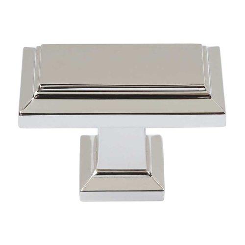 Atlas Homewares Sutton Place 1-1/2 Inch Diameter Polished Nickel Cabinet Knob 290-PN