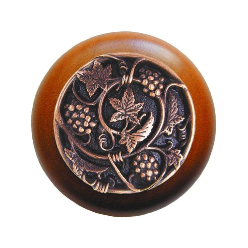 Notting Hill Tuscan 1-1/2 Inch Diameter Antique Copper Cabinet Knob NHW-729C-AC