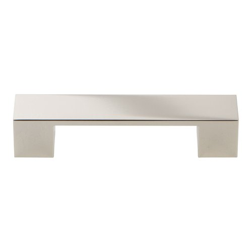 Atlas Homewares Wide Square Pull 96MM C/C Polished Nickel A918-PN
