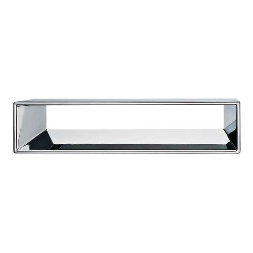 Hafele Silhouette 6-5/16 Inch Center to Center Polished Chrome Cabinet Pull 152.18.203