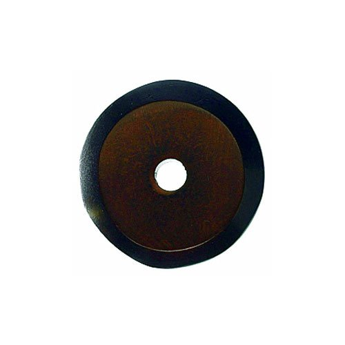 Top Knobs Aspen 7/8 Inch Diameter Mahogany Bronze Back-plate M1457