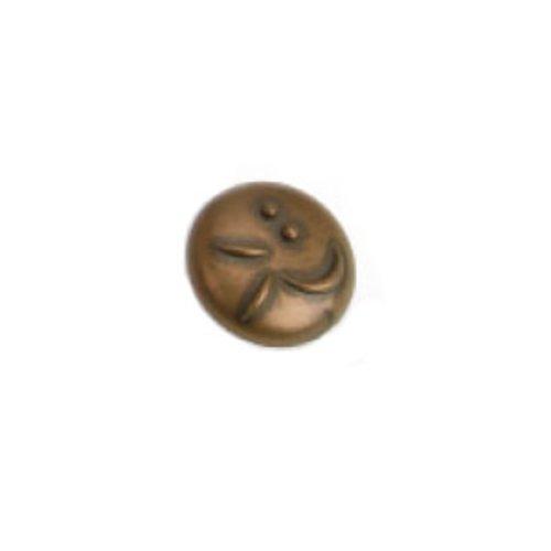 Laurey Hardware Graffiti 1-3/8 Inch Diameter Stonewashed Bronze Cabinet Knob 37276