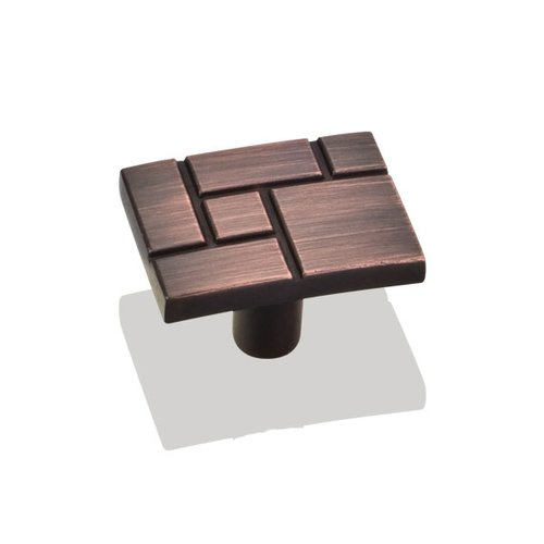 Jeffrey Alexander Breighton 1-7/16 Inch Diameter Dark Brushed Antique Copper Cabinet Knob 874DBAC