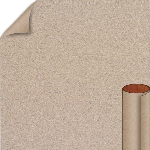 Nevamar Greige Matrix Textured Finish 4 ft. x 8 ft. Vertical Grade Laminate Sheet MR2002T-T-V3-48X096