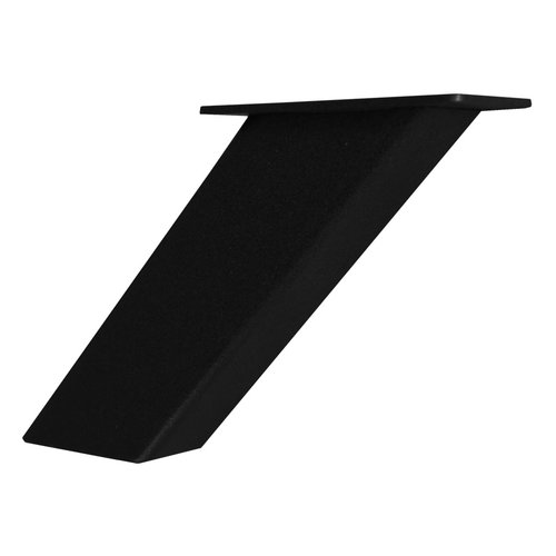 Federal Brace Noda Countertop Post Support 5 inch High Gloss Black 31541