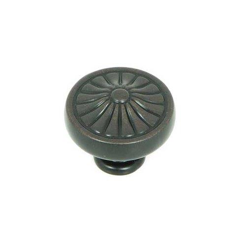 Stone Mill Hardware Cornell 1-1/4 Inch Diameter Oil Rubbed Bronze Cabinet Knob CP27-OB