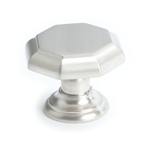 Euro Classica 1-3/8 Inch Diameter Brushed Nickel Cabinet Knob <small>(#7087-1BPN-P)</small>