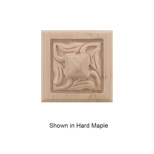 Brown Wood Small Nouveau Tile Unfinished Red Oak 01901057AK1